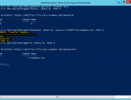 Azure Files (Azure Drivers) Mapping Virtual Machine