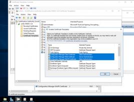 System Center Configuration Manager Sertifikasyon Gereksinimleri ve HTTPS ayarları nasıl yapılır ?
