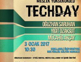 Yeni yılın ilk etkinliği! Kırklareli Üniversitesi – TECHDAY
